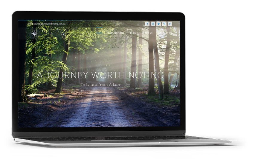 Web design A journey worth noting laptop
